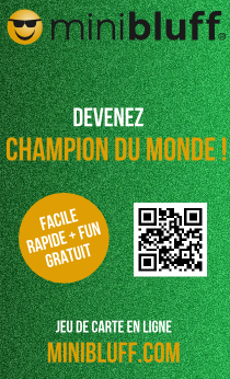 Minibluff the card game